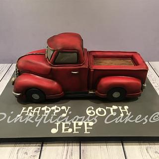 Chevrolet Truck Cake