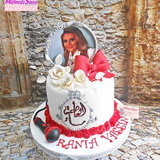 Super star actress cake 🌟