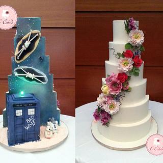 Romantic Space Cake