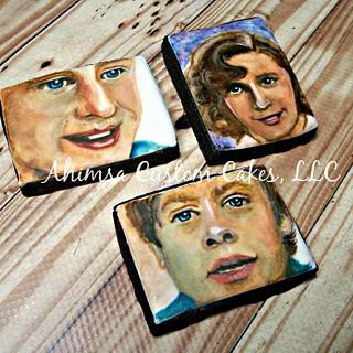 The McFlys / Back to the Future cookies