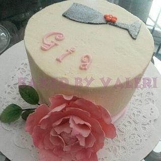 Buttercream birthday cake - Cake by Baked By Valeri