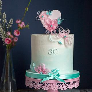 Qvilling cake - Cake by Vanilla & Me