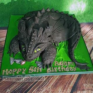 Adam - Toothless Birthday Cake