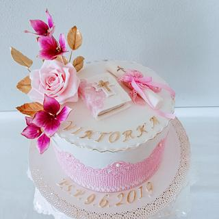 First Holy Communion - Cake by alenascakes