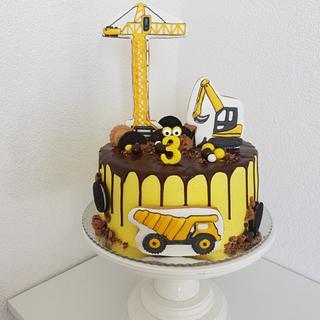 Construction Truck - Cake by Prodiceva