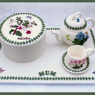 Botanical Garden Cake