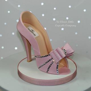 Pink Sugar Shoe with Swarovski Crystals