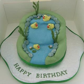 Duck pond - Cake by Chloes Cake Creations