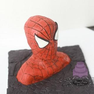 Solid Modeling Chocolate Spiderman Bust