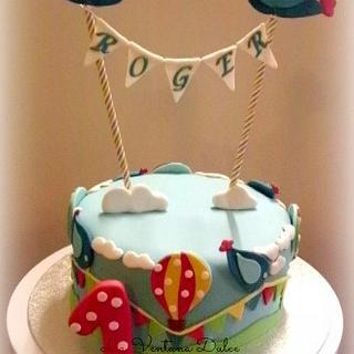 First Birthday Cake (Gluten free) - Cake by Andrea - La Ventana Dulce