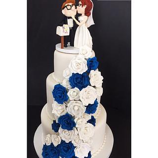 Wedding cake - Cake by  Vale Logroño