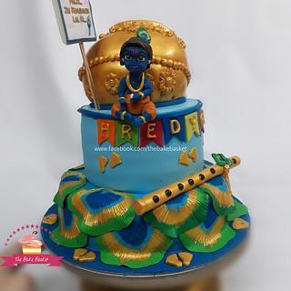 Krishna Cake - Cake by Neha Binnany