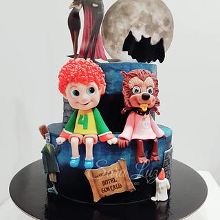 Hotel Transilvania Cake - Cake by Sara Luz