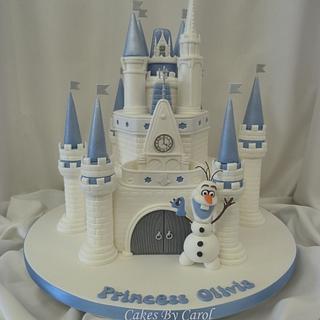 Disney Frozen Princess Castle