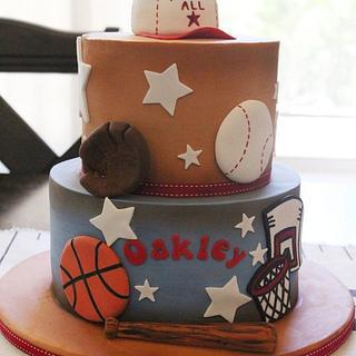 Oakley - Cake by Kendra