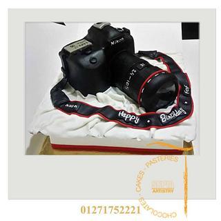 nikon camera cake - Cake by sepia chocolate