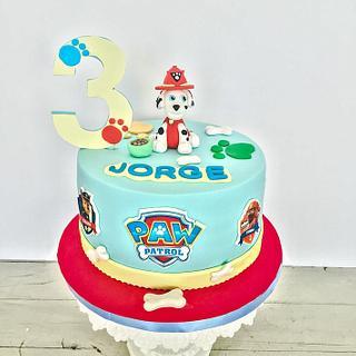 Paw Patrol Cake - Cake by Be Sweet