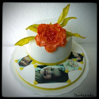Cake and photos