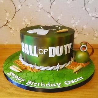 Call of Duty cake - Cake by Daisychain's Cakes