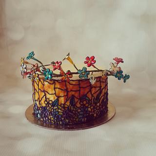 The Vibrant Cake