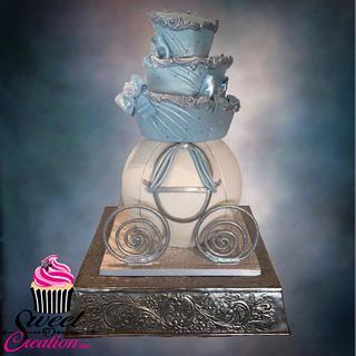 Cinderella wedding cake - Cake by Niki