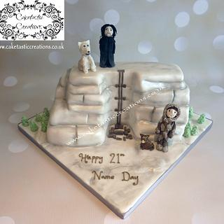 Game of Thrones 'The Wall' Cake
