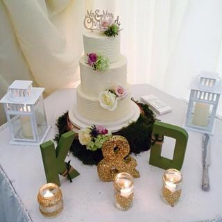Buttercream wedding cake - Cake by Jackie - The Cupcake Princess