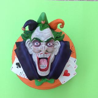 Joker cake - Cake by SugarRose