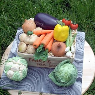 Farm shop - Cake by Yve mcClean