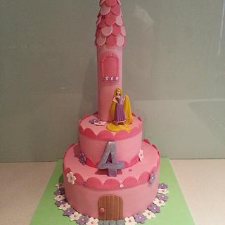 Rapunzel's Tower - Cake by BlissfulCakeCreations