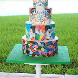 Cuties Street Art Cake Collaboration