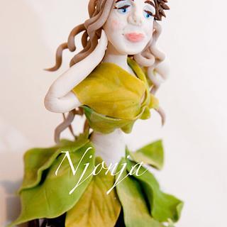 Acorn Elf Cupcake