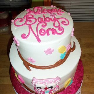 Baby Nora - Cake by Jennifer C.