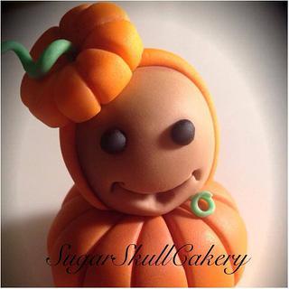 Pumpkin Baby Halloween 2013