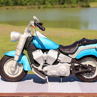 Cruiser Style Motorcycle for my dad's retirement