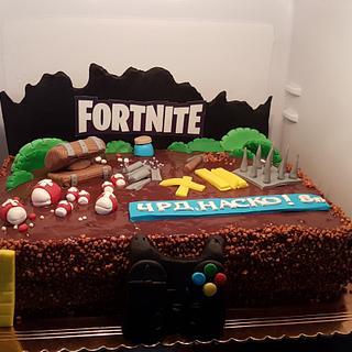Fortnite - Cake by Kamelia
