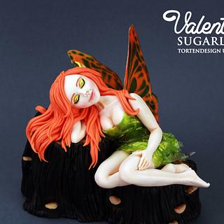 My fairy for Away with the fairy Collab - Cake by Valentina's Sugarland