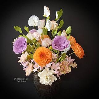 Sugar Floral Arrangement