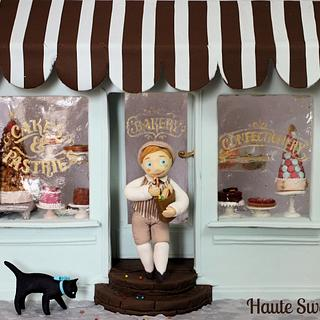 Handy Pandy ( Sweet Fairy Tales Cake Collaboration) - Cake by Hiromi Greer