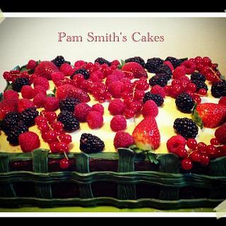 Fruit cake.....