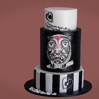 Owl - Cake by Fancy Fondant WA