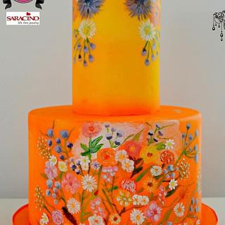 Couture Cakers 2018  - Cake by Sensational Sugar Art by Sarah Lou