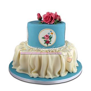 Vintage Regency cake