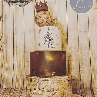 Steam cakes - a steampunk collaboration  - Cake by Missyclairescakes