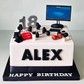 18th Birthday Cake - Cake by Lorraine Yarnold