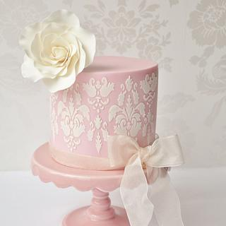Elegant & pretty Mother's Day cake and treats