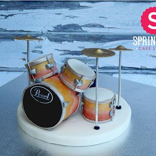 Drum set topper