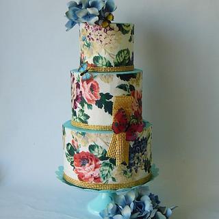 Wedding cake - Cake by Marek