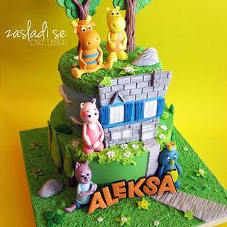 The Backyardigans cake - Cake by Zasladi se Cake Design