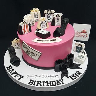 Shopping Bags Cake  - Cake by Simo Bakery